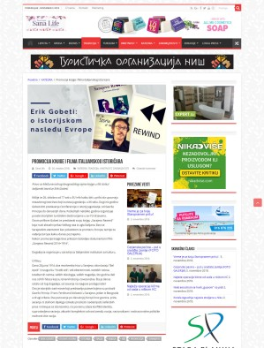 2610 - magazinsana.rs - Promocija knjige i filma italijanskog istoricara
