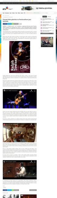2610 - rtv.rs - Poznati dzez gitarista na Pancevackom jazz festivalu