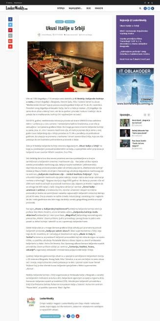 2711 - lookerweekly.com - Ukusi Italije u Srbiji