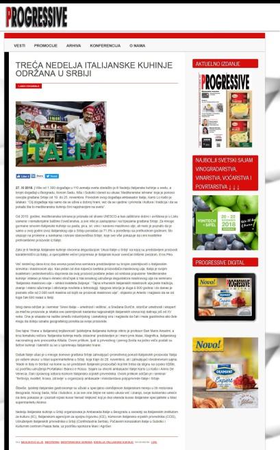 2711 - progressivemagazin.rs - TRECA NEDELJA ITALIJANSKE KUHINJE ODRZANA U SRBIJI