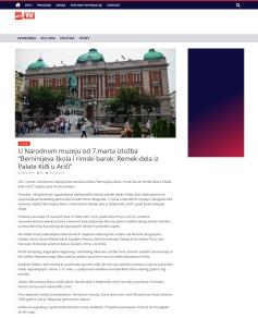 2802 - btv.rs - U Narodnom muzeju od 7.marta izlozba Berninijeva skola i rimski barok