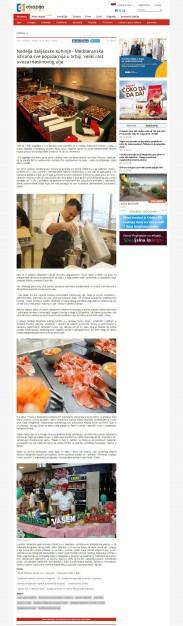 2811 - ekapija.com - Nedelja italijanske kuhinje - Mediteranska ishrana sve popularnija u Srbiji, veliki rast uvoza maslinovog ulja