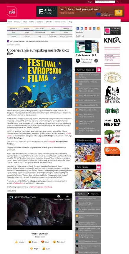 2901 - seecult.org - Upoznavanje evropskog nasledja kroz film