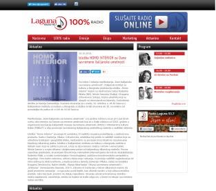 2910 - radiolaguna.rs - Aktuelno- Izlozba HOMO INTERIOR za Dane savremene italijanske umetnosti