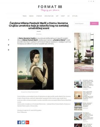 2911 - format88.com - Carobna Milena Pavlovic Barili u Domu Jevrema Gruji-ça- umetnica koja je ostavila trag na svetskoj umetnickoj sceni
