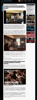 0103 - gaf.rs - Zvanicno najavljen program jubilarnog 20. Guitar Art Festivala na konferenciji za novinare