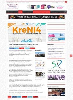 0111 - magazinsana.rs - KreNI4 konferencija-Otvoren poziv za mlade kreativce
