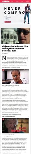 0505 - dominomagazin.com - Vilijam Fridkin ispred i iza rediteljske kamere na Beldocsu 2019