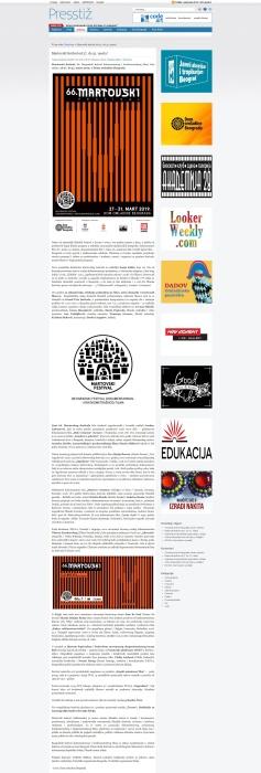 0703 - presstiz.rs - Martovski festival od 27. do 31. marta