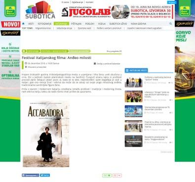 0912 - subotica.com - Festival italijanskog filma- Andjeo milosti