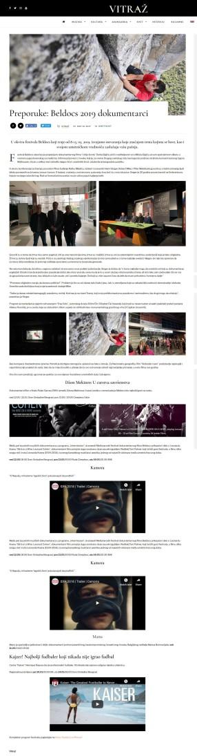 1005 - vitraz.net - Preporuke- Beldocs 2019 dokumetarci
