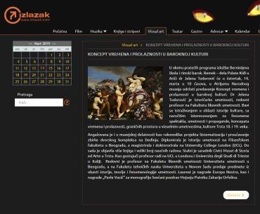 1303 - izlazak.com - KONCEPT VREMENA I PROLAZNOSTI U BAROKNOJ KULTURI