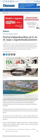 2005 - danas.rs - Festival italijanskog filma od 21. do 26. maja u Jugoslovenskoj kinoteci