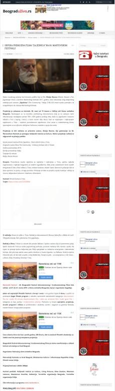 2103 - beograduzivo.rs - SRPSKA PREMIJERA FILMA ZAJEDNICA NA 66. MARTOVSKOM FESTIVALU