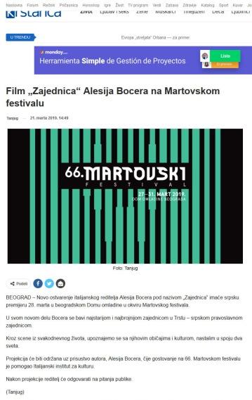 2103 - krstarica.com - Film Zajednica Alesija Bocera na Martovskom festivalu
