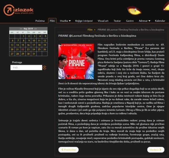2105 - izlazak.com - PIRANE Laureat filmskog festivala u Berlinu u bioskopima