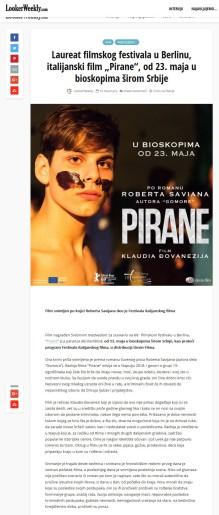 2105 - lookerweekly.com - Laureat filmskog festivala u Berlinu, italijanski film Pirane, od 23. maja u bioskopima sirom Srbije