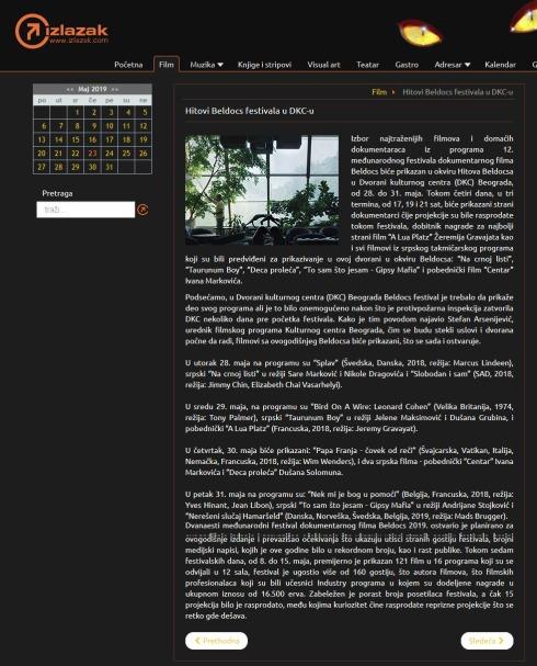 2205 - izlazak.com - Hitovi Beldocs festivala u DKC-u