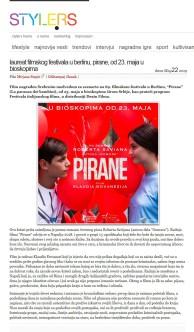 2205 - style.rs - Laureat filmskog festivala u Berlinu, PIRANE, od 23. maja u bioskopima