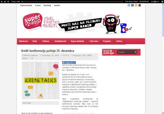 2411 - superradio.rs - KreNI konferencija pocinje 29. decembra