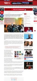 2811 - juznevesti.com - O digitalizaciji kulturnog nasledja na ovogodisnjoj konferenciji KreNI