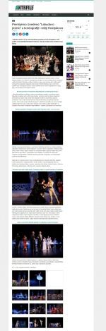 0306 - antrfile.com - Premijerno izvedeno Labudovo jezero u koreografiji i reziji Kostjukova