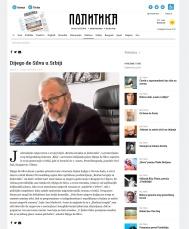 0503 - politika.rs - Dijego de Silva u Srbiji