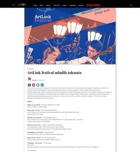 0506 - inteenmagazine.com - ArtLink festival mladih talenata