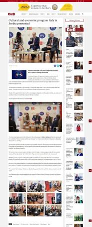 0702 - cordmagazine.com - Cultural and economic program Italy in Serbia presented