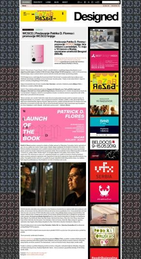 0905 - designed.rs - WCSCD Predavanje Patrika D. Floresa i promocija WCSCD knjige
