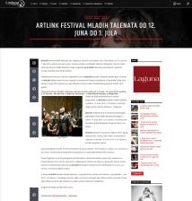 1006 - radiolaguna.rs - ArtLink festival mladih talenata od 12. juna do 1. jula