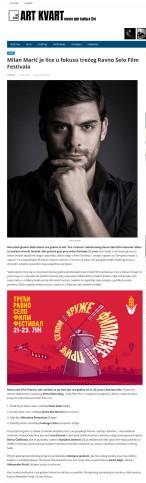 1106 - artkvart.rs - Milan Maric je lice u fokusu treceg Ravno Selo Film Festivala