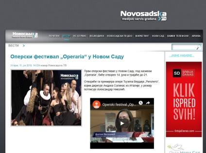 1106 - novosadska.tv - Operski festival Operaria u Novom Sadu