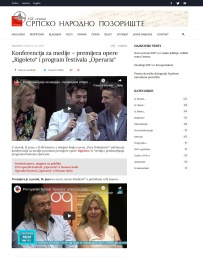 1206 - snp.org.rs - Konferencija za medije - premijera opere Rigoleto i program festivala Operaria Srpsko narodno pozoriste