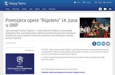 1206 - tanjug.rs - Premijera opere Rigoleto 14. juna u SNP