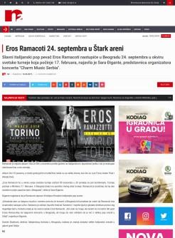 1302 - n2.rs - Eros Ramacoti 24. septembra u Stark areni