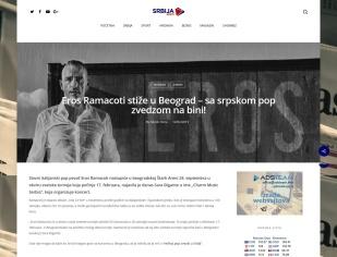 1402 - srbijavesti.com - Eros Ramacoti stize u Beograd - sa srpskom pop zvedzom na bini