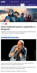 1502 - b92.net - Slavni italijanski pevac u septembru u Beogradu