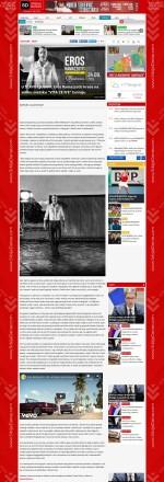 1502 - srbijadanas.com - U SLAVU LJUBAVI- Eros Ramazzotti krece na veliku svetsku VITA CE NGÇÖE turneju