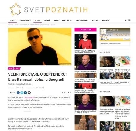 1502 - svetpoznatih.rs - VELIKI SPEKTAKL U SEPTEMBRU Eros Ramacoti dolazi u Beograd