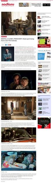 1806 - nadlanu.com - REDITELJI, GLUMCI, PRODUCENTI- Brojni gosti treceg Ravno Selo Film Festivala