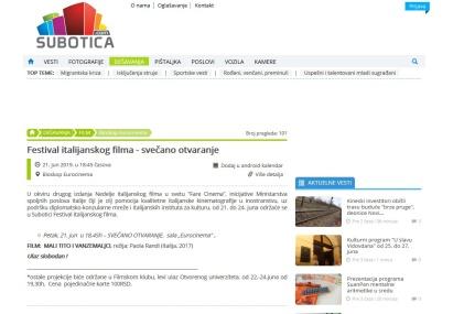 2106 - subotica.com - Festival italijanskog filma - svecano otvaranje