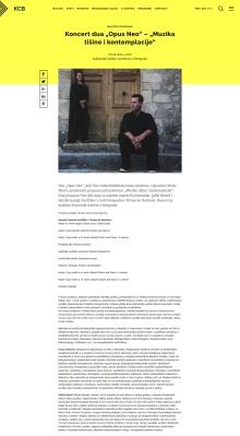 2204 - kcb.org.rs - Koncert dua Opus Neo - Muzika tisine i kontemplacije