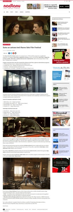 2206 - nadlanu.com - Sutra se zatvara treci Ravno Selo Film Festival