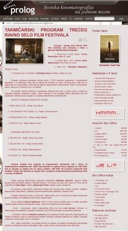 2206 - prolog.rs - TAKMICARSKI PROGRAM TRECEG RAVNO SELO FILM FESTIVALA