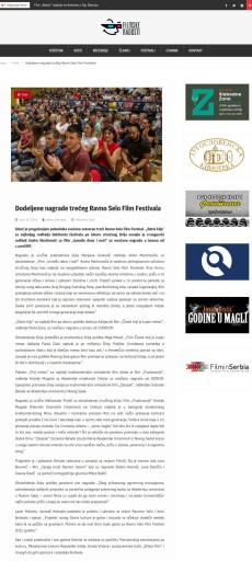 2406 - filmske-radosti.com - Dodeljene nagrade treceg Ravno Selo Film Festivala