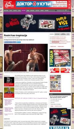 2703 - novosti.rs - Rosini kao inspiracija