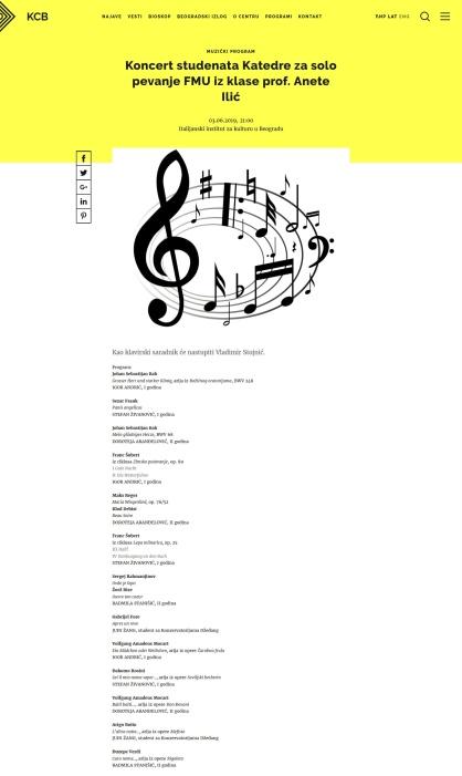 2805 - kcb.org.rs - Koncert studenata Katedre za solo pevanje FMU iz klase prof. Anete Ilic