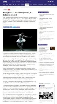 3105 - b92.net - Kostjukov- Labudovo jezero je baletski praznik