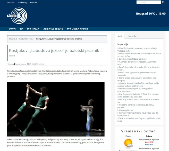 3105 - studiob.rs - Kostjukov- Labudovo jezero je baletski praznik